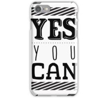 Inspirational motivational quote iPhone Case/Skin