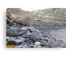 Reservoir Rocks Metal Print