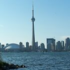 The CN tower in Toronto by CJuanita