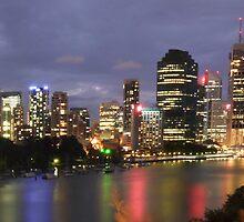 River City Lights by Brett Williams