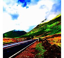 Lonely Road Photographic Print