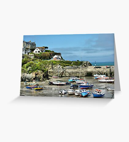 Newquay Cornwall Greeting Card