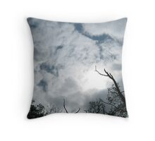 Moody weather Throw Pillow