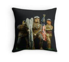 The Spirit of '76 Revisited Throw Pillow