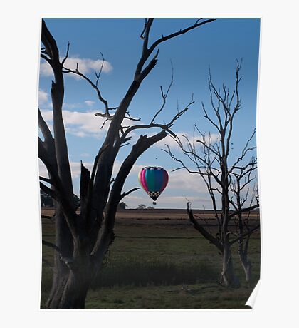 Hot Air Balloon 6 Poster