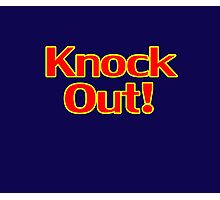Knock Out T-Shirt Top Sweater Sticker Photographic Print