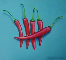 Five Little Peppers by Jennifer Barmettler