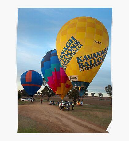 Hot Air Balloon 9 Poster