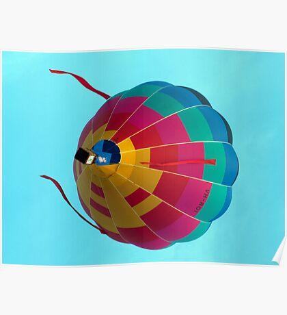 Hot Air Balloon 10 Poster
