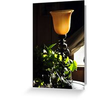Seductive Lighting Greeting Card