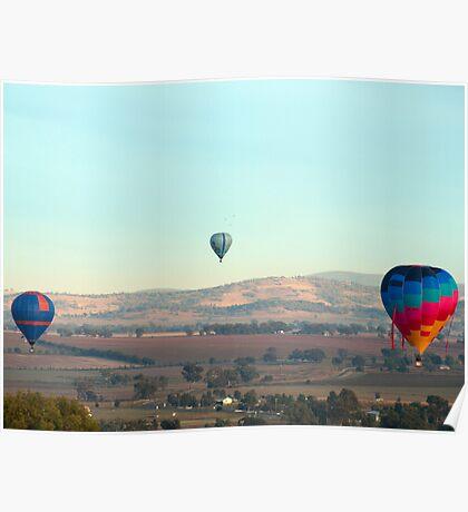 Hot Air Balloon 11 Poster