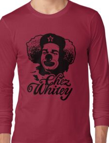 Chez Whitey (Black) Long Sleeve T-Shirt