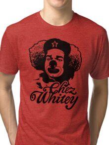 Chez Whitey (Black) Tri-blend T-Shirt