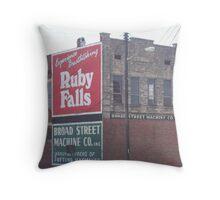 Broad Street Machine Throw Pillow