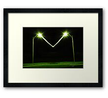 Giant Bug Zapper Framed Print