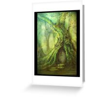 Moss Covered Treehouse Greeting Card