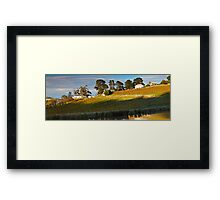 Tinderbox Vineyard in Autumn Framed Print