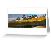 Tinderbox Vineyard in Autumn Greeting Card
