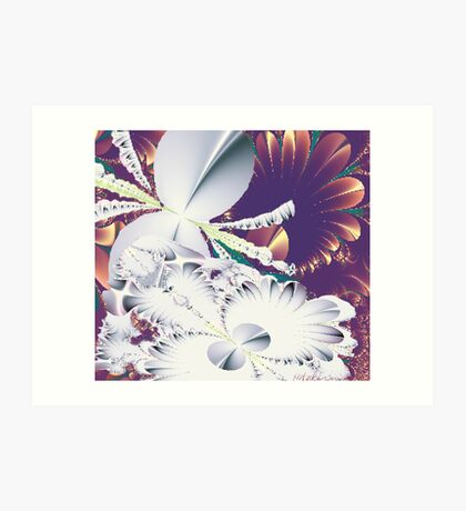 """Fractal Flowers"" Art Print"