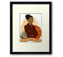 Doctor Who: The girl who walked the Earth - Martha Jones Framed Print