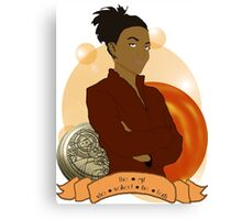 Doctor Who: The girl who walked the Earth - Martha Jones Canvas Print