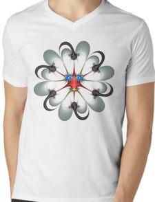 Corriparta Bug with Antivirus Mens V-Neck T-Shirt