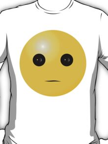 Serious Smiley T-Shirt