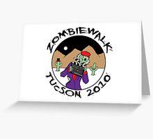 Tucson Zombiewalk 2010 Greeting Card