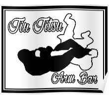 Jiu Jitsu Arm Bar Black  Poster