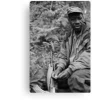 Guardian of the Mountain Gorillas Canvas Print