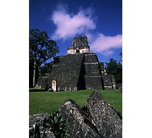 Clouds over Tikal Photographic Print