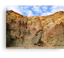 Layered - Golden Canyon - Death Valley Canvas Print