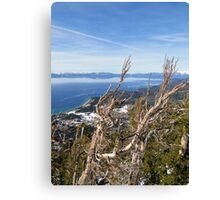 Bluebird Day - Lake Tahoe Canvas Print