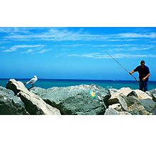 Pro Hart the seagull Photographic Print