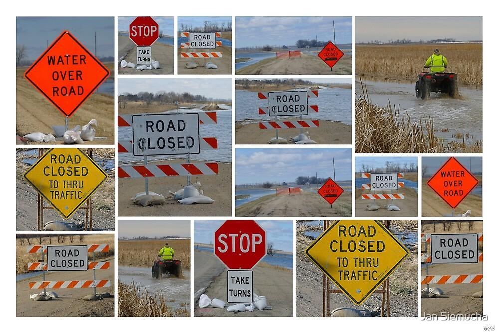 Signs of Spring in South Dakota ! by Jan Siemucha