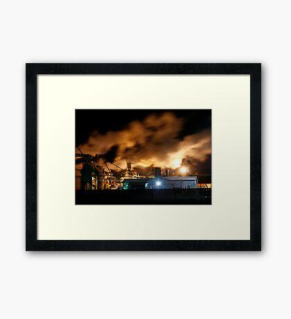 Industrial Landscape  Framed Print
