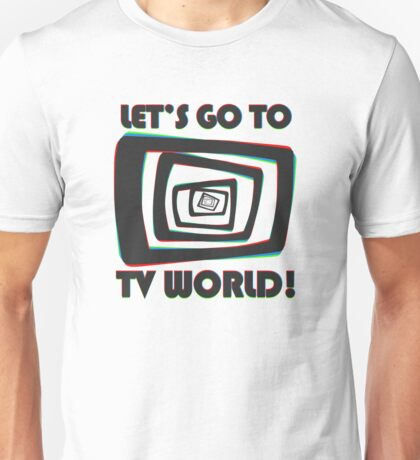 TV World Unisex T-Shirt