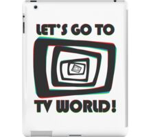 TV World iPad Case/Skin