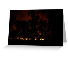 Wild Fire Greeting Card