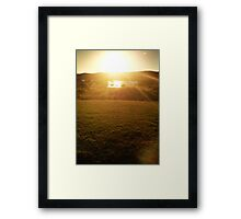 Afternoon Glory Framed Print