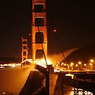 Golden Gate Bridge After Hours by FarWest