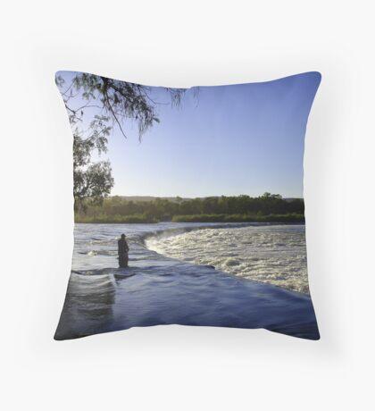 Kimberley Solitude Throw Pillow