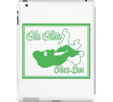 Jiu Jitsu Arm Bar Green  iPad Case/Skin