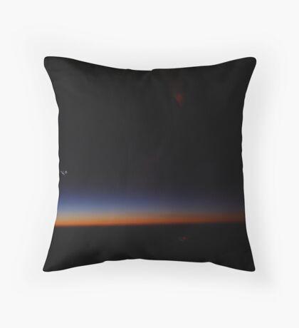 Skyline In Flight Throw Pillow