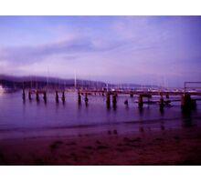 Sundown Jetty Photographic Print
