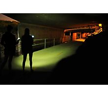 Ghost Hunting Photographic Print