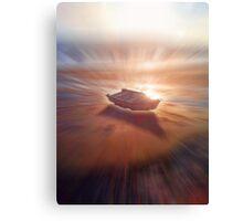 Boat Glow Canvas Print