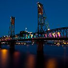 Hawthorne Bridge by Ritchie Belleque