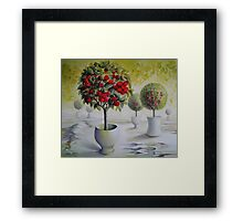 Cherry orchard  Framed Print
