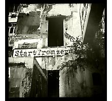 Start from zero - Back alleys of Causeway Bay II Photographic Print